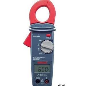 Pinza amperimétrica 600A DCM60R