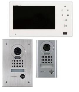 Intercomunicador con video a color con pantalla de 7 pulgadas