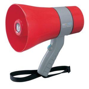 Megafono pequeño de hasta 250m con sirena TR-215SA