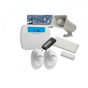 Kit 1 de alarma con transceptor independiente para espacios grandes